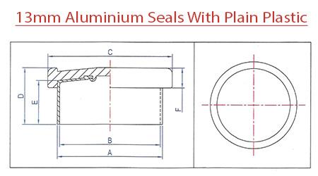 13mm-Aluminum-Seals-With-Plain-Plastic