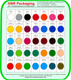 Colour Shade card 1